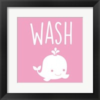 Framed Sea Creatures-Wash