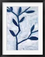 Framed Blue and White II