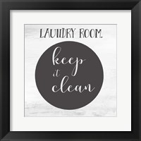 Framed Laundry III