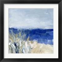 Framed Winter Beach II