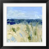 Framed Winter Beach IV