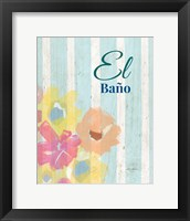 Framed El Bano