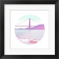 Framed Pastel Bridge