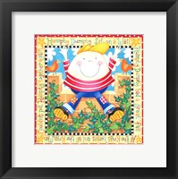 Framed Humpty Dumpty