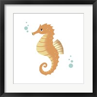 Framed Sea Creatures - Seahorse