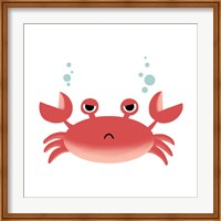 Framed Sea Creatures - Crab