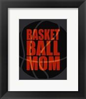 Framed Basketball Mom