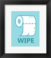 Framed Boy's Bathroom Task-Wipe