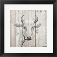January Cow I Framed Print