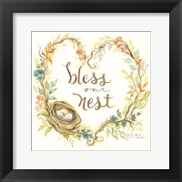 Framed Nest Blessings