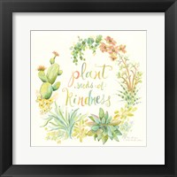 Framed Seeds of Kindness