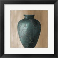 Framed Blue Vessel II