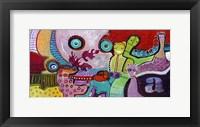 Framed Colourfull Mars Men V