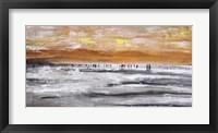 Framed Beach II Panel