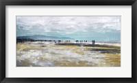 Framed Beach III Panel