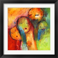 Framed Abstract Faces 1