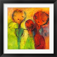 Framed Abstract Faces 2