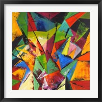 Framed Abstract Geo 1