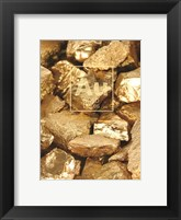 Framed Golden Gravel