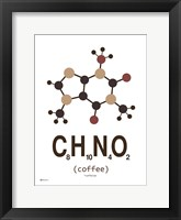 Framed Molecule Coffee-with Milk