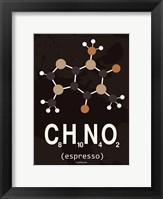 Framed Molecule Espresso