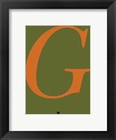 Framed G