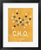 Framed Molecule Honey