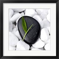 Framed Zen Stone