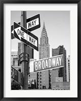 Framed Broadway