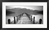Framed Lake Pier