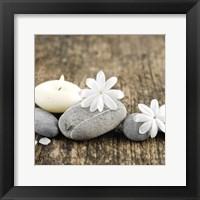 Framed Zen Pebbles 2