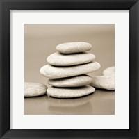 Framed Zen Pebbles 4