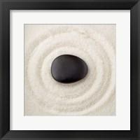 Framed Zen Pebble 1