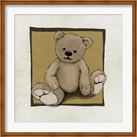 Framed Teddy Bear