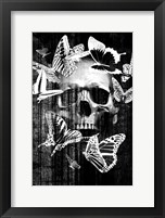 Framed Skull Butterfly Crown