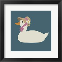 Framed Duck Family Mom