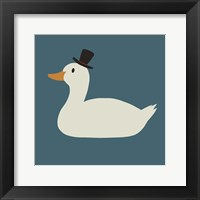 Framed Duck Family Dad