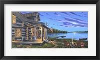 Framed Lakeside Retreat