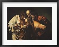 Framed Caravaggio