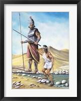 Framed David Goliath