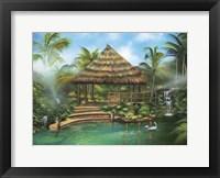 Framed Tropical Paradise