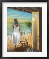 Framed Woman Beach