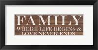 Framed Family Border