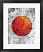 Framed Marble Mars