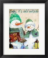 Framed Baby its Cold Outside