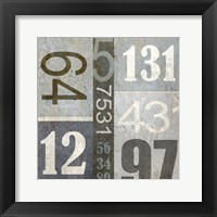 Framed Numbers