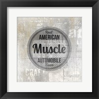 Framed American Garage 2