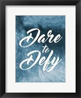 Framed Dare To Defy