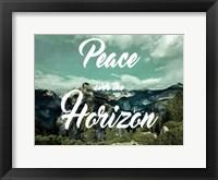 Framed Peaceful Horizon