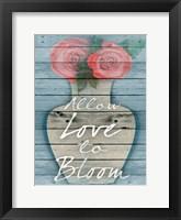 Framed Blooming Love